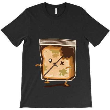 Bread Zombie T-shirt Designed By Equinetee