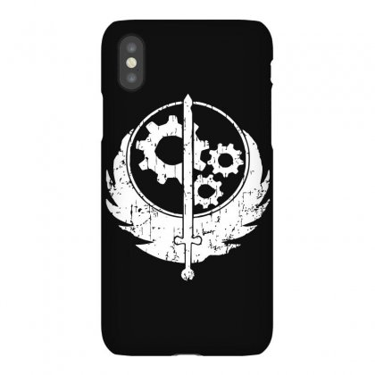 Brotherhood Of Steel Iphonex Case Designed By Acen9