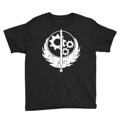 Brotherhood Of Steel Youth Tee Designed By Acen9