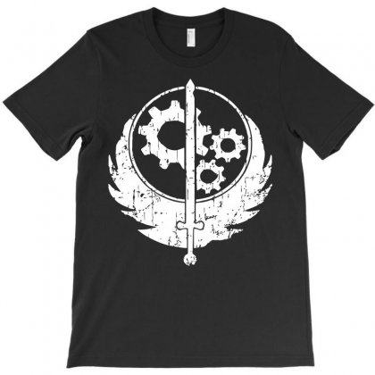 Brotherhood Of Steel T-shirt Designed By Acen9