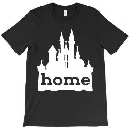 Cinderella Castle T-shirt Designed By Acen9