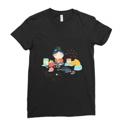 Hobby Ladies Fitted T-shirt Designed By Disgus_thing