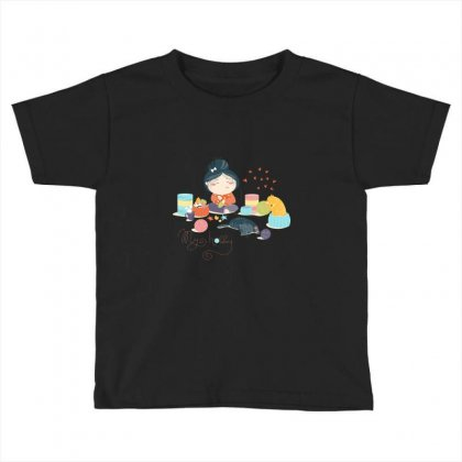 Hobby Toddler T-shirt Designed By Disgus_thing