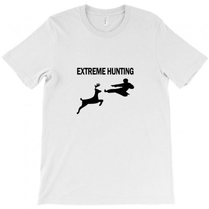 Extreme Hunting T-shirt Designed By Equinetee