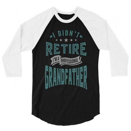 Grandfather 3/4 Sleeve Shirt Designed By Chris Ceconello