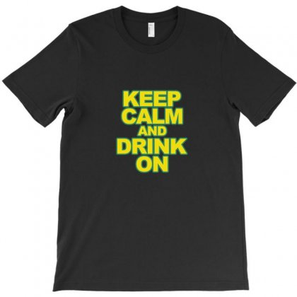Drink On T-shirt Designed By Equinetee