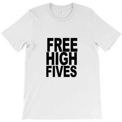 Free High Fives T-shirt Designed By Equinetee