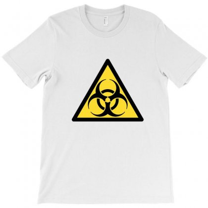 Biohazard Plate T-shirt Designed By Equinetee
