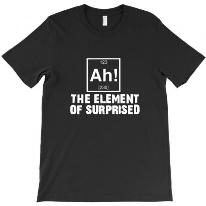 The Elemenmt Of Surprised White Version T-shirt Designed By Equinetee
