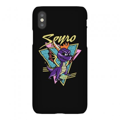 Spyro The Dragon Unleash Retro Iphonex Case Designed By Allison Serenity