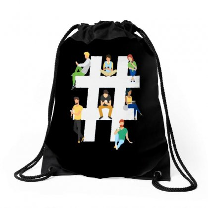 Bring Together Drawstring Bags Designed By Phantom