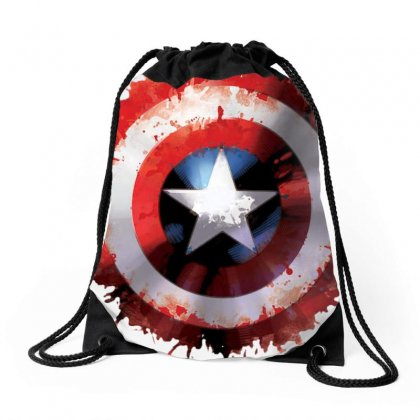 Captain America Drawstring Bags Designed By Phantom