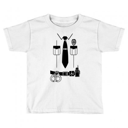 Officer Shirt Toddler T-shirt Designed By Teesclouds