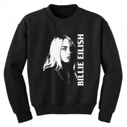 billie lover eilish Youth Sweatshirt | Artistshot