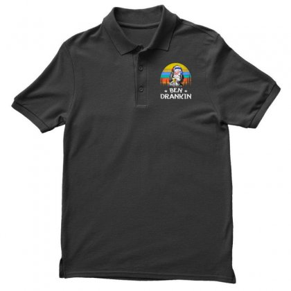 4th Of July Funny Men's Polo Shirt Designed By Balqis Tees