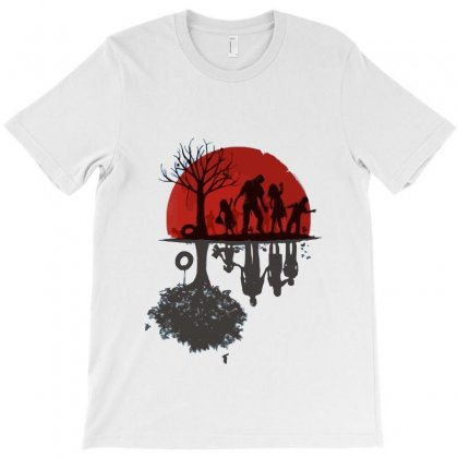 A Zombie Family T-shirt Designed By Teesclouds