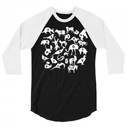 alphabet animals 3/4 Sleeve Shirt | Artistshot