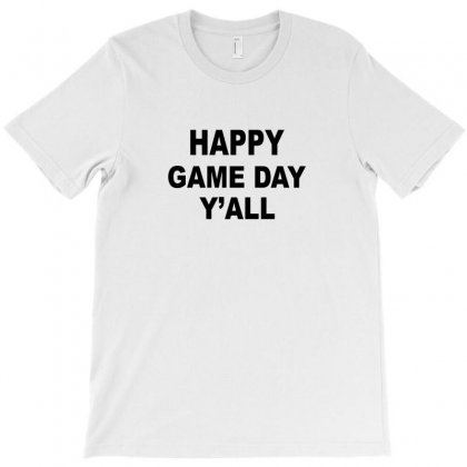 Happy Game Day Y'all T-shirt Designed By Suryanaagus068