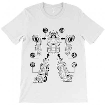 Parts Of Robot T-shirt Designed By Teesclouds