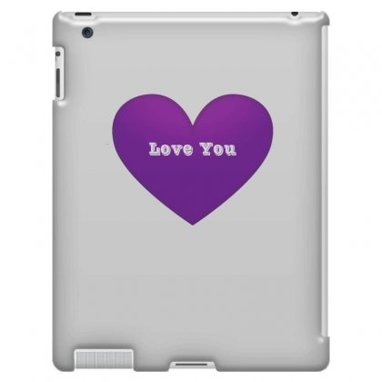 Love You Ipad 3 And 4 Case Designed By Lulu50
