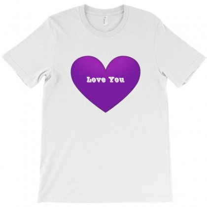 Love You T-shirt Designed By Lulu50
