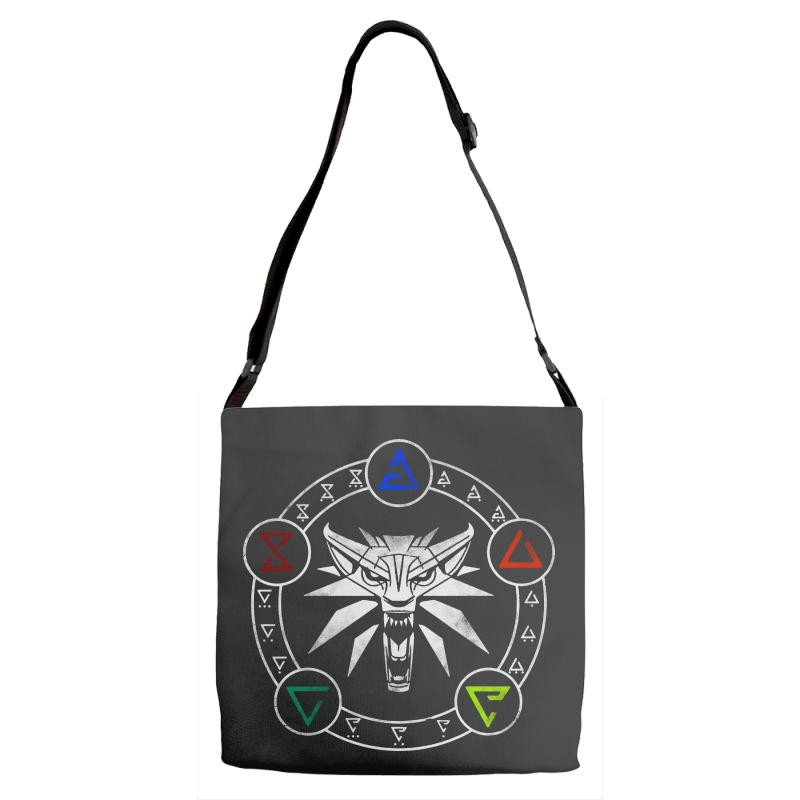 Camiseta Witcher Adjustable Strap Totes | Artistshot