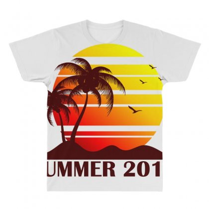 Summer 2019 All Over Men's T-shirt Designed By Anrora