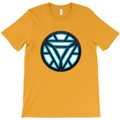 Arc Reactor   New Element T-shirt Designed By Devanojohnsantos