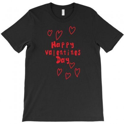 Happy Valentines Day Luvluv T-shirt Designed By Suryanaagus068