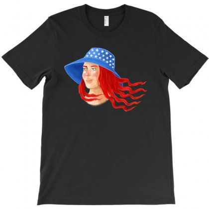 American Girl T-shirt Designed By Akin