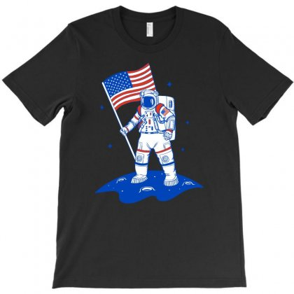American Astronaut T-shirt Designed By Akin