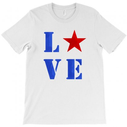 America Love T-shirt Designed By Akin