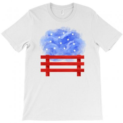 America Fence T-shirt Designed By Akin