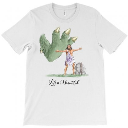Life Is Beautiful For Light T-shirt Designed By Akin