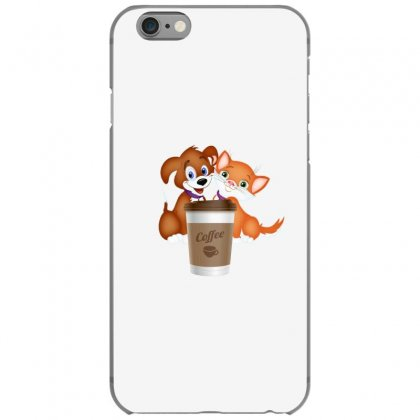 Coffee Pets Iphone 6/6s Case Designed By Lulu50