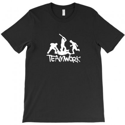 Teamwork   Mens Funny T-shirt Designed By Funtee