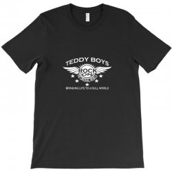 teddy boy homage T-Shirt | Artistshot