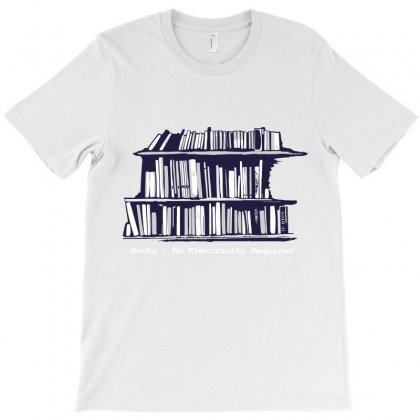 Library Booksa T-shirt Designed By Teesclouds