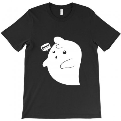 Ghost Boo! T-shirt Designed By Teesclouds