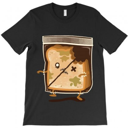 Bread Zombie T-shirt Designed By Teesclouds