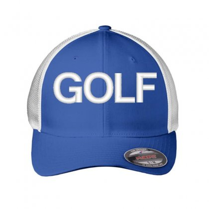 Golf Embroidered Mesh Cap Designed By Madhatter