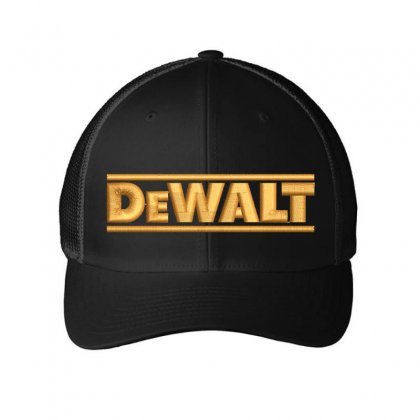 Dewalt Embroidery Embroidered Hat Embroidered Mesh Cap