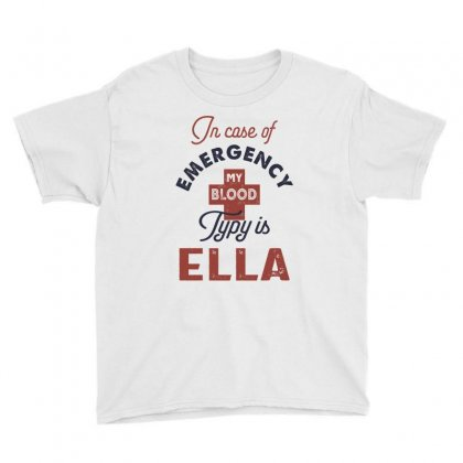 Ella Name Youth Tee Designed By Cidolopez