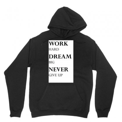 Never Give Up Unisex Hoodie Designed By Marketerpassion
