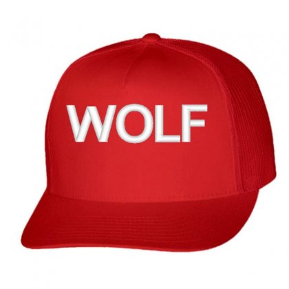 Wolf Trucker Cap Designed By Madhatter
