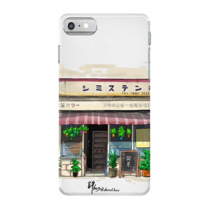 Retro Japanese Storefront Iphone 7 Case Designed By Xuhws98