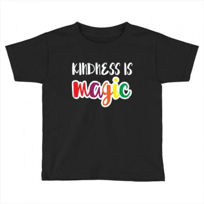 Kindness Is Magic Toddler T-shirt Designed By Balqis Tees