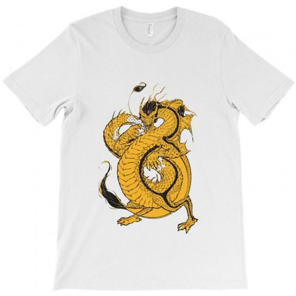 Bruce Lee The Dragon T-shirt Designed By Teesclouds