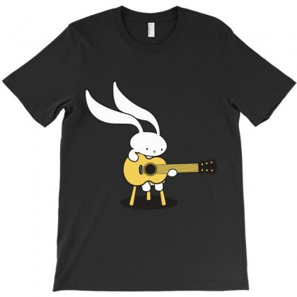 Bunny's Acoustic T-shirt Designed By Teesclouds