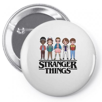 Stranger Things Pin-back Button Designed By Vanitty